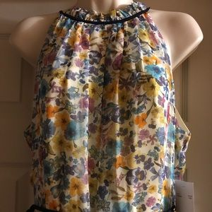 Be by Cheeta B Floral Maxi Dress Size 10